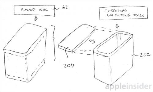 Apple Glasverschmelzung Patent