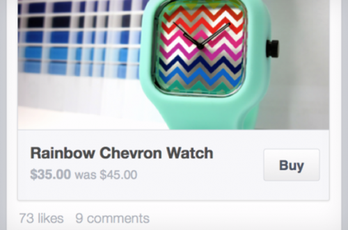 Facebook Buy Button theverge.com