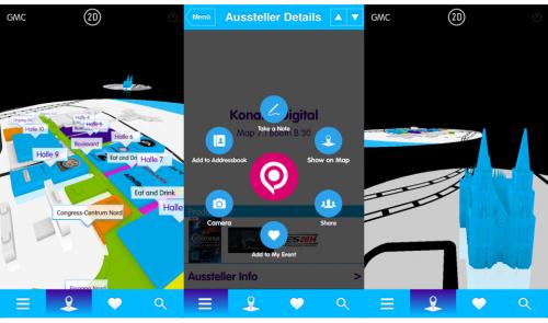 Gamescom App 2014 Screen