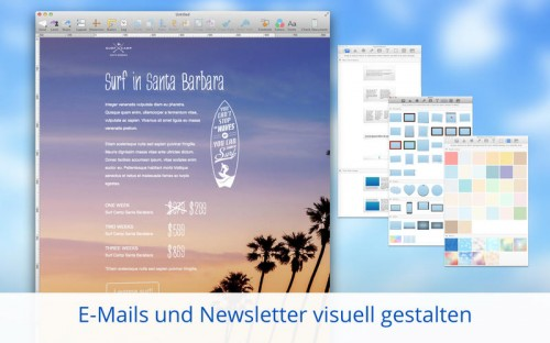 Mail Designer 2 Screen1