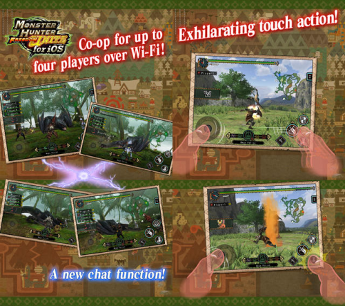Monster Hunter Freedom Unite Screen1
