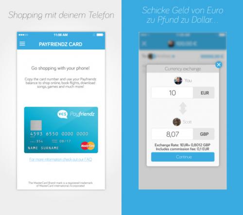 Payfriendz Screen2