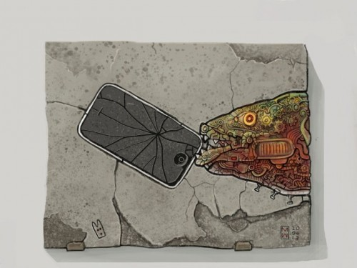Roboter Fisch iPhone