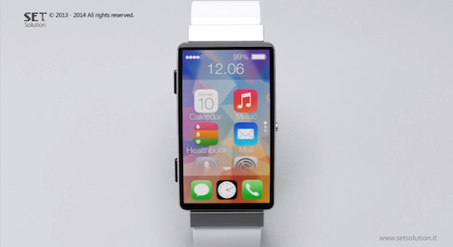 SET solution iWatch Konzept