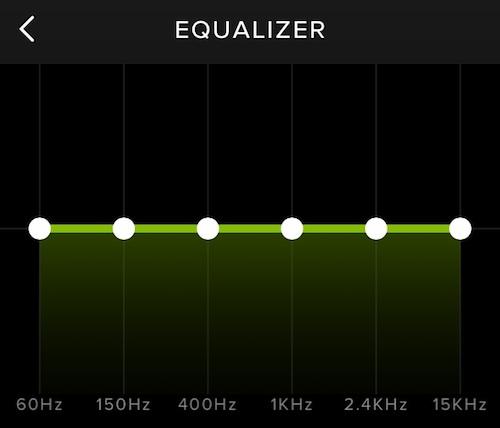 Spotify Equalizer