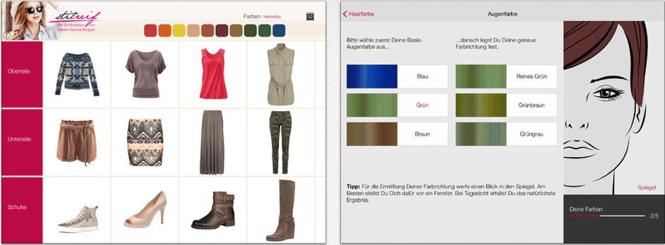 stilreif neue app sucht euch passende klamotten itopnews. Black Bedroom Furniture Sets. Home Design Ideas