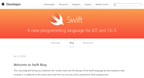Swift Blog