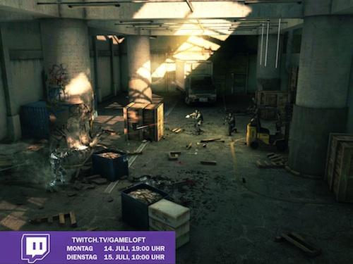 Twitch Modern Combat 5 Live TV