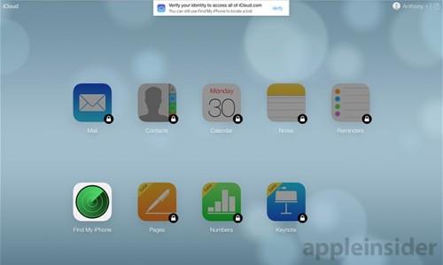 iCloud.com zwei Schritte