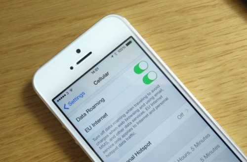 iOS 8 EU Roaming