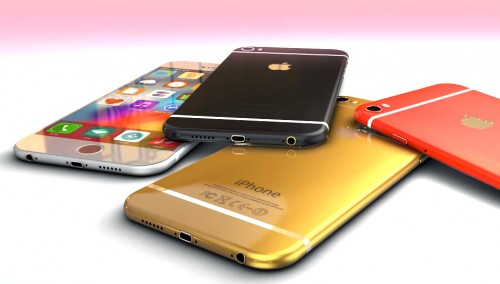 iPhone 6 Farben Render