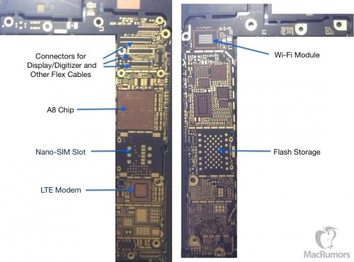 iPhone 6 PCB Leak