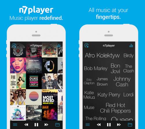 n7player Music Player Screen1