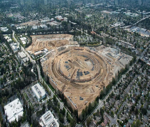 Apple Campus 2 Luftaufnahme1