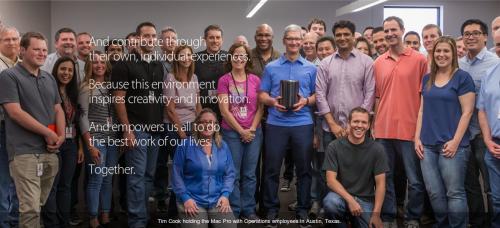 Apple Diversity Bild