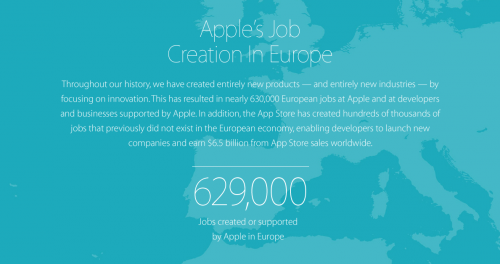 Apple Jobs in Europa 1