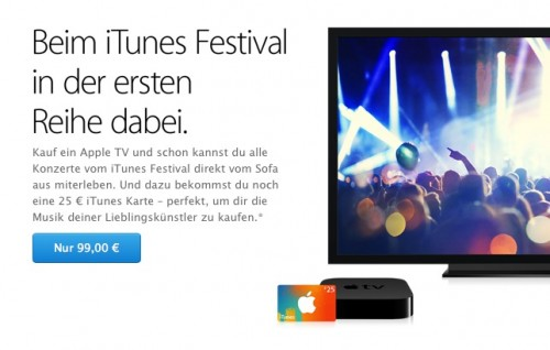 Apple TV Angebot