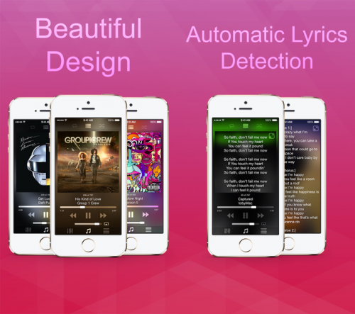 Blend Music Player Screen1