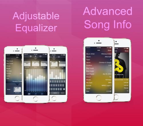 Blend Music Player Screen2
