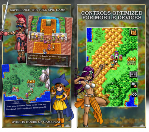 Dragon Quest IV Screen1