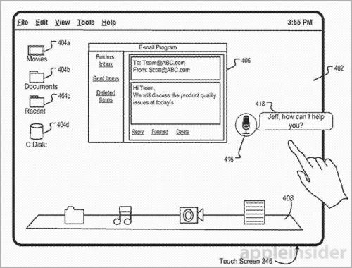 OS X Siri Patent Bild1