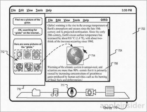 OS X Siri Patent Bild2