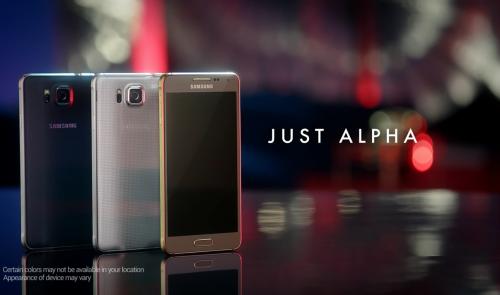 Samsung Galaxy Alpha Bild1