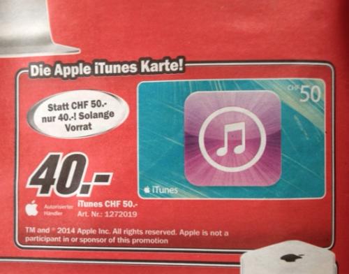 Schweiz iTunes Bastian