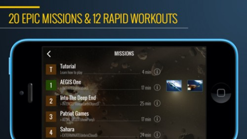 Superhero Workout Screen1