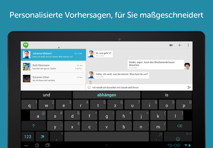 SwiftKey Bild Android