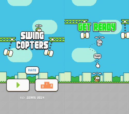 Swing Copters Screen1
