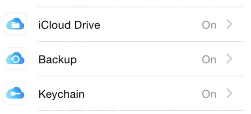 iCloud Logos iOS 8 Beta 5