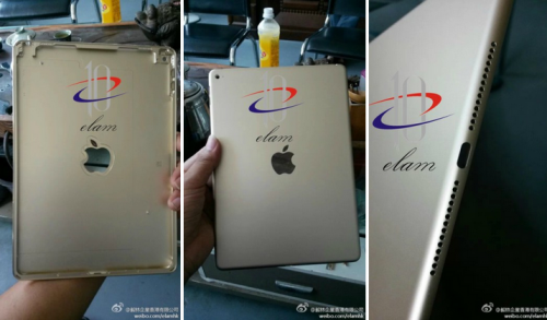 iPad Air 2 Rueckseite Weibo