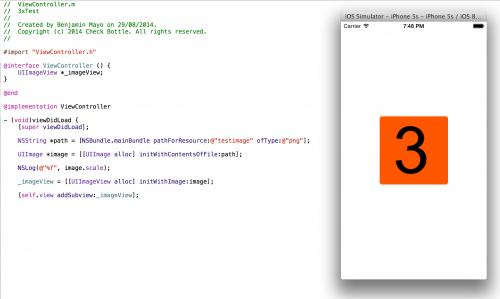 iPhone 3X Xcode