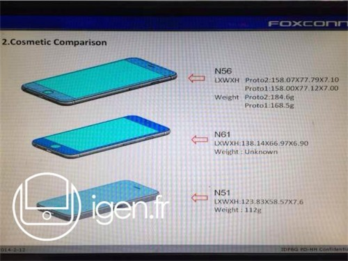 iPhone 6 Foxconn Leak2