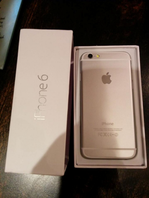 iPhone 6 in Packung Leak