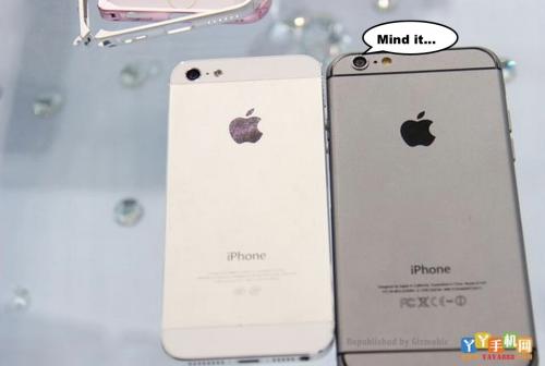 iPhone 6 und 5 Vergleich 2 gizmobic