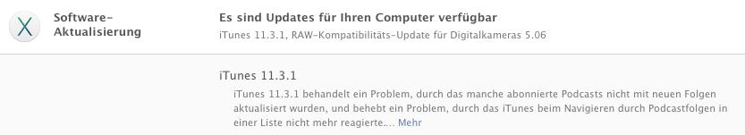 iTunes 11.3.1 Update