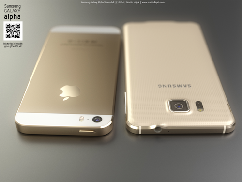 martinhajek.com iPhone 6 vs Alpha Rendering 1