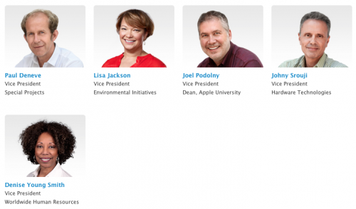 neue Profile Apple Fuehrung