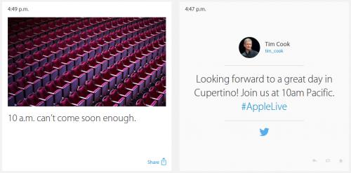Apple 9Sept14 Ticker Seite