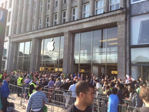 Apple Store Hamburg iPhone 6