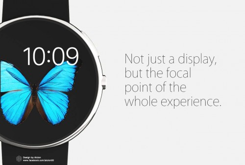 Apple Watch Konzept Rund 2