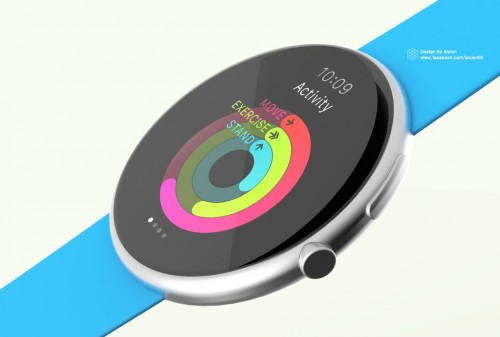 Apple Watch Konzept Rund 3