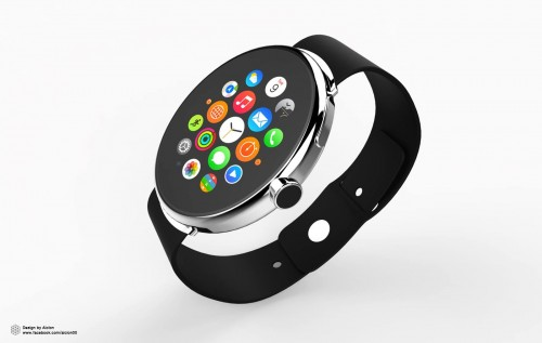 Apple Watch Konzept Rund 5