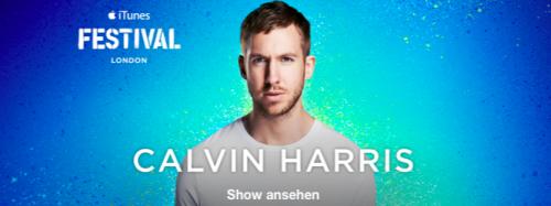 Calvin Harris iTunes Festival