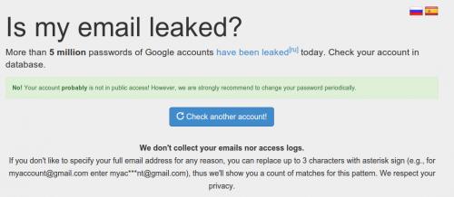 Gmail Leak