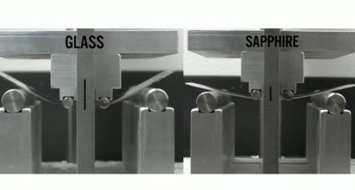 Gorilla Glas Saphirglas Videovergleich