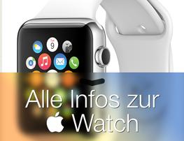 Alle Infos rund um die Apple Watch
