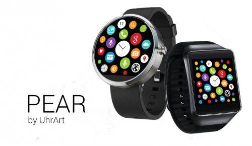 Pear Apple Watch Design Android